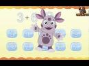 Лунтик учит цифры - игра для детей  Математика для детей