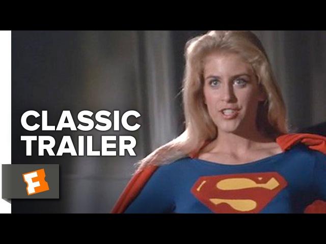Supergirl 1984 Official Trailer Helen Slater Faye Dunaway Peter O'Toole Superhero Movie HD