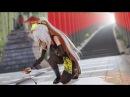 【MMD】「トキヲ・ファンカ(忍刀ver.)」Tokio Funka (with ninja knife) 弱音ハク Ninja (version II) 4K