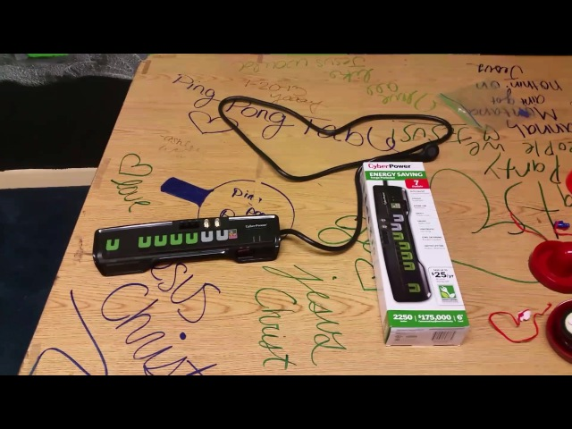 Update on CyberPower Energy Saving Surge Protector