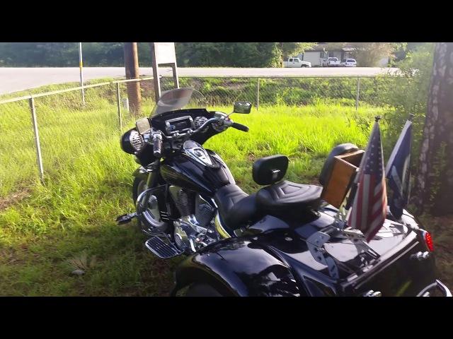 2007 Honda VTX 1300R Trike with Cobra drag pipes