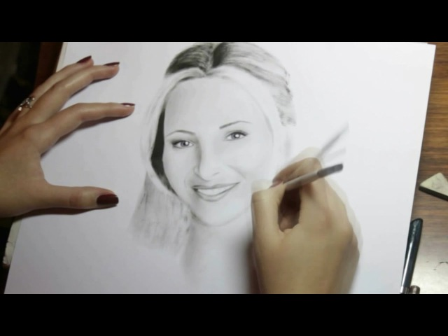 Speed Drawing: Phoebe Buffay (Lisa Kudrow) | Julia Blakita