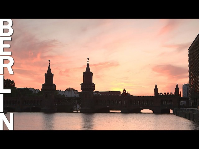 Berlin Sunset Nightlife Time Lapse Video with Music Berlin HeartBEAT