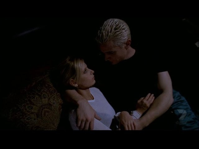 Buffy the vampire slayer - funeral -Buffy and Spike