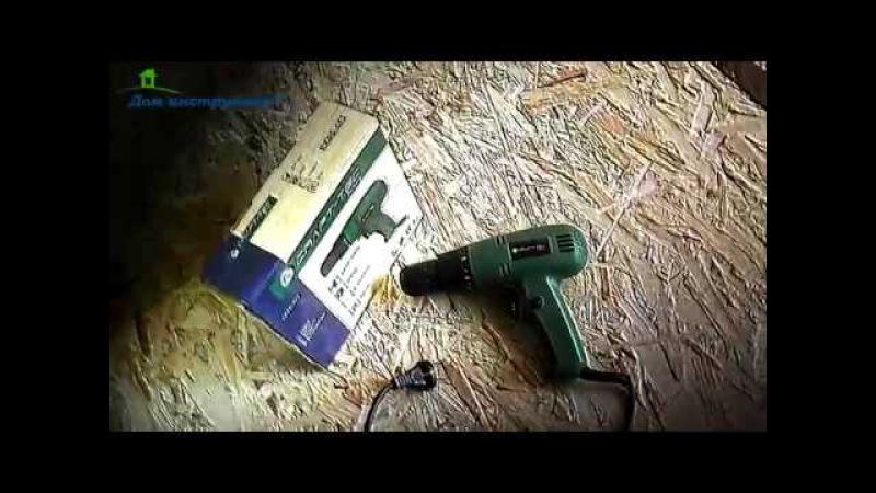 Сетевой шуруповерт Craft tek PXSD 101 900 W.Видеообзор.