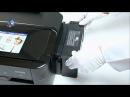 Первый запуск принтера Epson L810