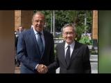 Встреча С.Лаврова и главы МИД Таиланда