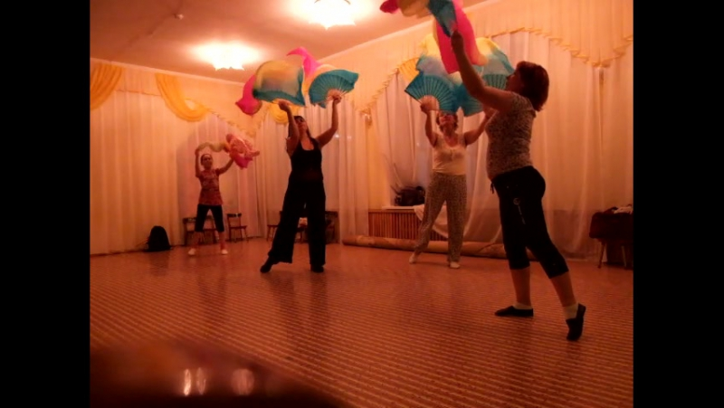 Тренировка в студии Энджой,танец вейлы новый