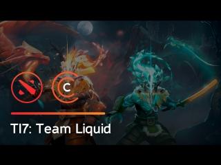 Решающая драка в матче Team Liquid vs  Newbee