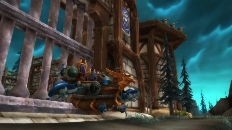 World of Warcraft — маунты за виртуальный билет на BlizzCon