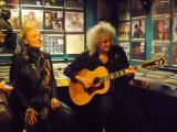 Brian May &amp Kerry Ellis - The Kissing Me Song. Record Store Day, 19.04.2013