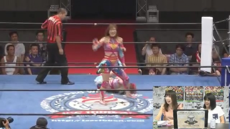 Arisa Nakajima, Tsukasa Fujimoto vs. Avid Rival (Misaki Ohata, Ryo Mizunami) (Ice Ribbon - Ice In Wonderland 2017)