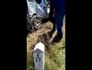 Авария на ЖД переезде Аксай, недалеко от Есиля 01.06.2017