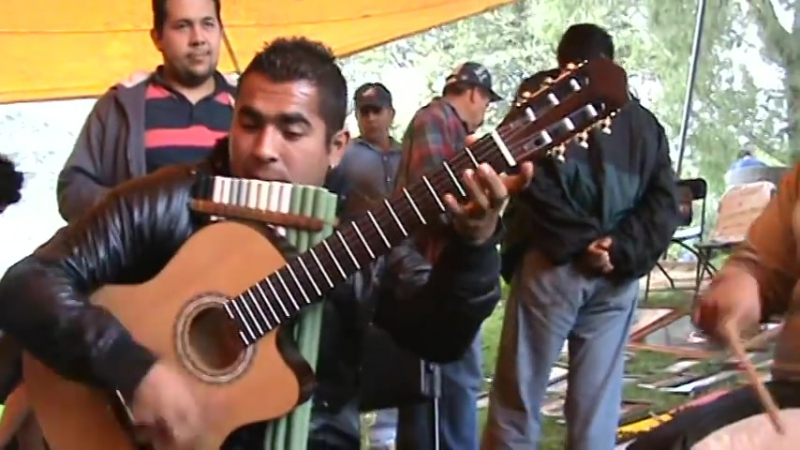 Montes Punku y Leño Verde CANTO GUERRERO
