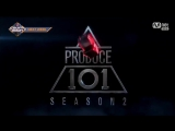 Produce101 Season 2 @ A Class Special Perfomance on M!Countdown