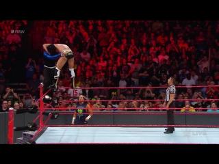 WWE RAW 17.04.2017: Jeff Hardy vs. Cesaro