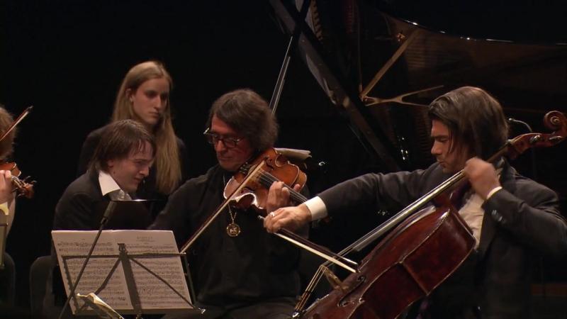 Dvořák Quintet 2 A op 81 Renaud Capuçon Vilde Frang Yuri Bashmet Gautier Capuçon Daniil Trifonov 2013
