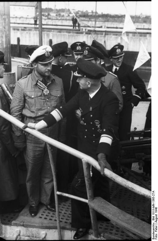 Лемп и Дёниц на U-30