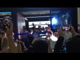 Видео с презентации Samsung galaxy S8