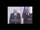 Yeltsin Clinton Press conference 1995