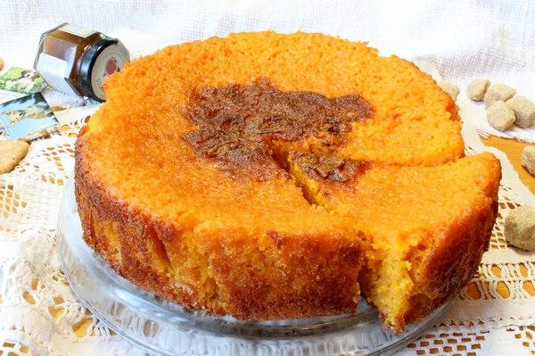 Морковный кекс рецепт пошагово в духовке