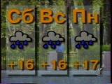 staroetv.su / Прогноз погоды (6 канал, 22.08.1998)