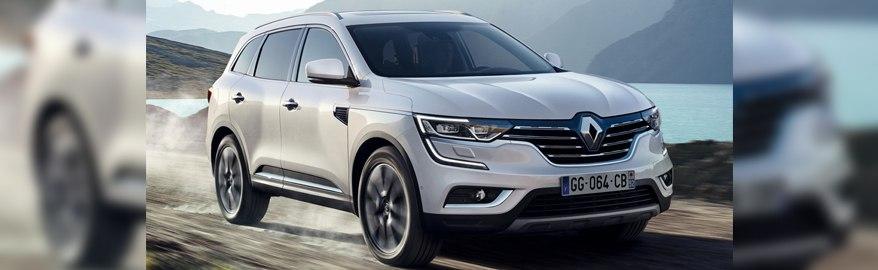 В 2017 году в России появится новый Renault Koleos
