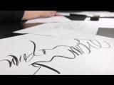 Мастер-класс «Работа с образами в современной каллиграфии кистью» с Юлией Кузнецовой