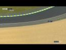 Падение Валентино Росси в гонке MotoGP Гран-При Франции 2017