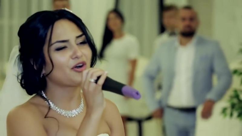 Рэп Невеста поет на свадьбе очень красиво !