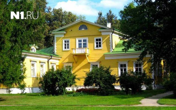 Сегодня - день рождения А.С. Пушкина!  Посмотрите на усадьбы великого