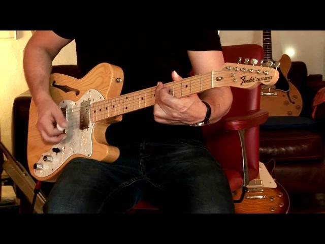 1997 Fender Telecaster Thinline (Japan), Part3