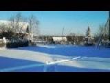 Белым снегом - песня под гармонь