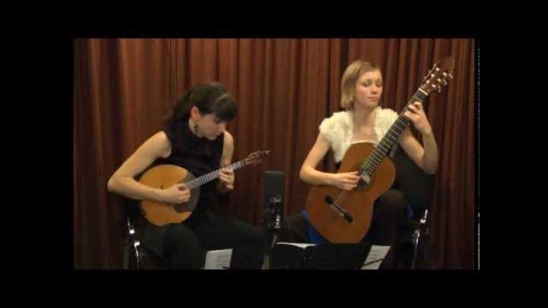 Duo Edora plays E. Baev Underwater flowers II-III part