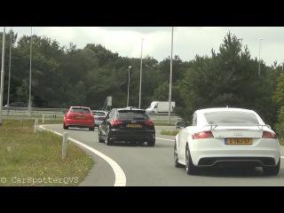 Audi RS3 - TT-RS meeting: Revv Battle, Drive, Launch controls!