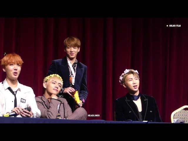 161021 WINGS 팬싸인회 정국베스트3어워드 / 정국 JUNGKOOK FOCUS
