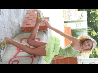 Tanya - photo set 3 - Lovely blonde with bare suntanned legs/feet