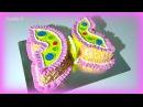 3 д Торт Бабочка мастер класс Кремовые торты для детей Украшение тортов