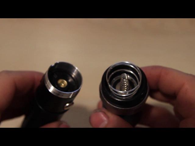 Ремонт фонарика. Барахлит кнопка. Фонарик BL-T8626