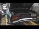 ВАЗ-2105 Замена, покраска битого багажника.