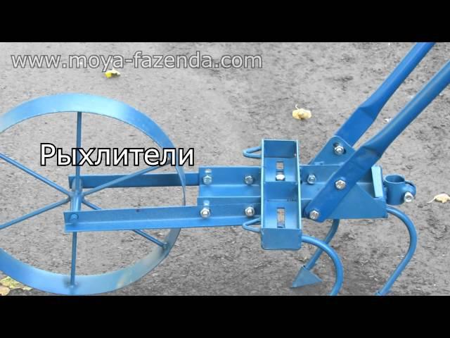 Ручной культиватор, окучник, рыхлитель (6 в 1)