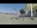SUPERball Bot prototype using a locomotion algorithm