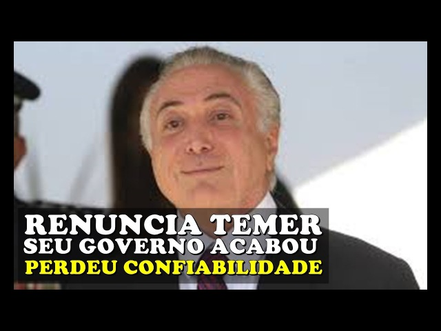 Jornalista arrasa Temer apos denuncia da ABIN tem de RENUNCIAR Perdeu as condições de governar!