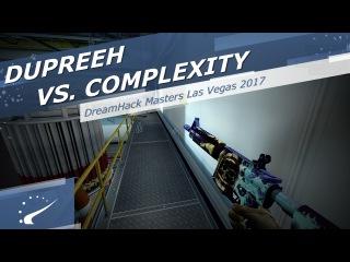 Dupreeh vs. compLexity - DreamHack Masters Las Vegas 2017