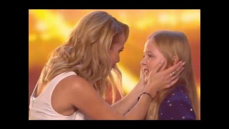 Amanda Holden's GOLDEN BUZZER Beau Dermott Defying Gravity Britain's Got Talent 2016