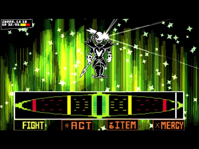 Undertale DDD (Eps 4) - Genocide Undyne Fight ~ Undyne the Undying (2.0) [Fanmade]