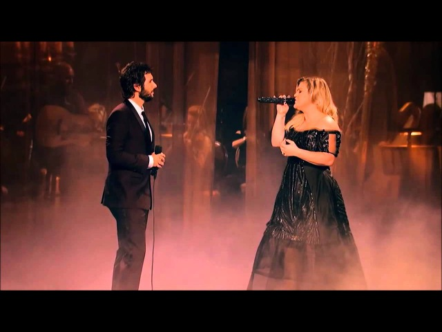 Josh Groban Kelly Clarkson All i ask \