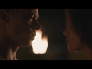 Game of Thrones S7E2 - Missandei and Grey Worm Erotic Scene