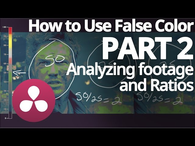 How to use False Color: Analyzing footage and ratios - Part 2