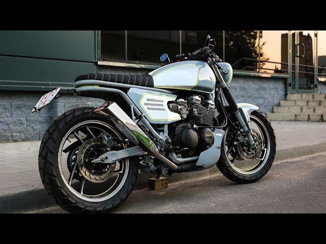 Custom Yamaha XJ600 by Sparta Garage